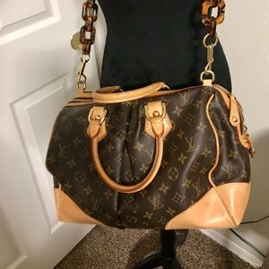 Louis Vuitton RARE Stephen Tortoise Link Bag⚜